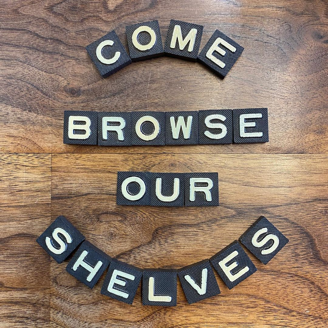 Come browse our shelves!